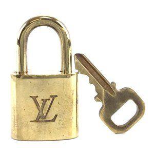 Louis Vuitton Gold Keepall Speedy Lock Key Set#337